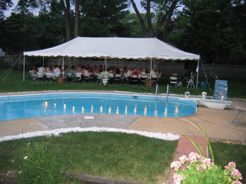 20 x 40 Canopy 20 x 40 Canopy & Elmhurst Party Tent Rentals