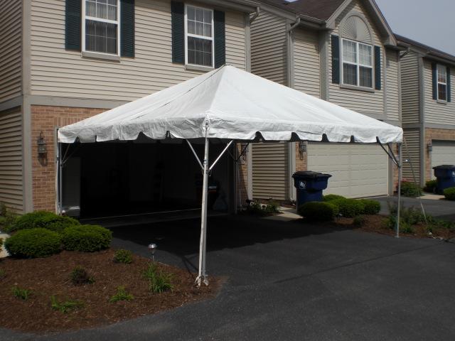 16x16 Frame 16x16 Frame & Elmhurst Party Tent Rentals